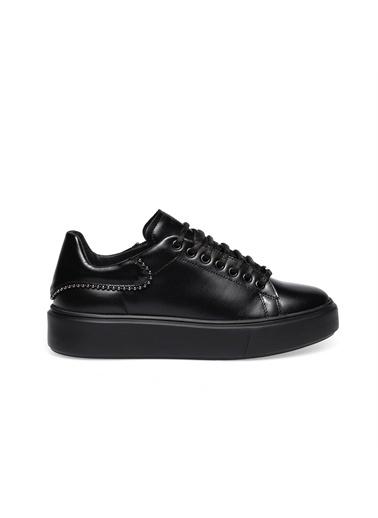 Frau  Kadın  41L4   Sneaker Leather  Siyah